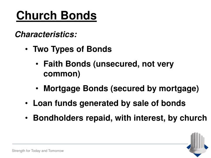 Church Bonds