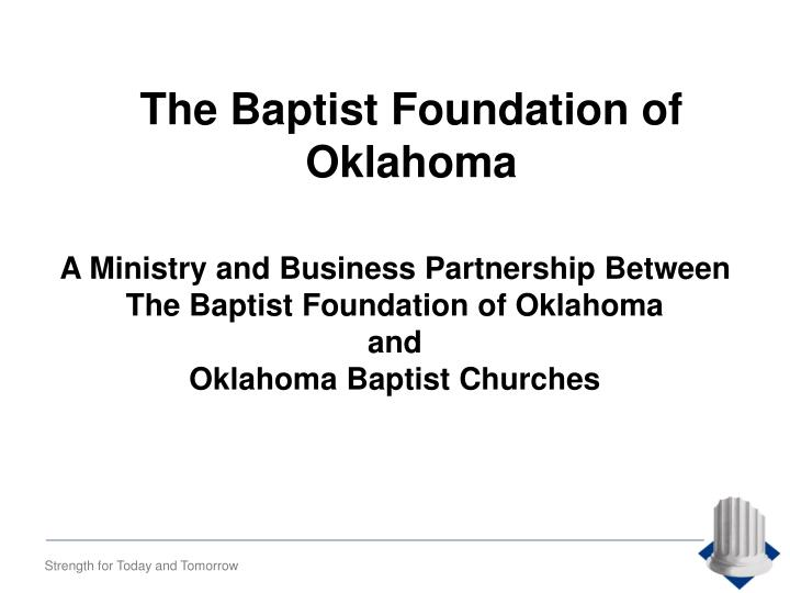The Baptist Foundation of Oklahoma
