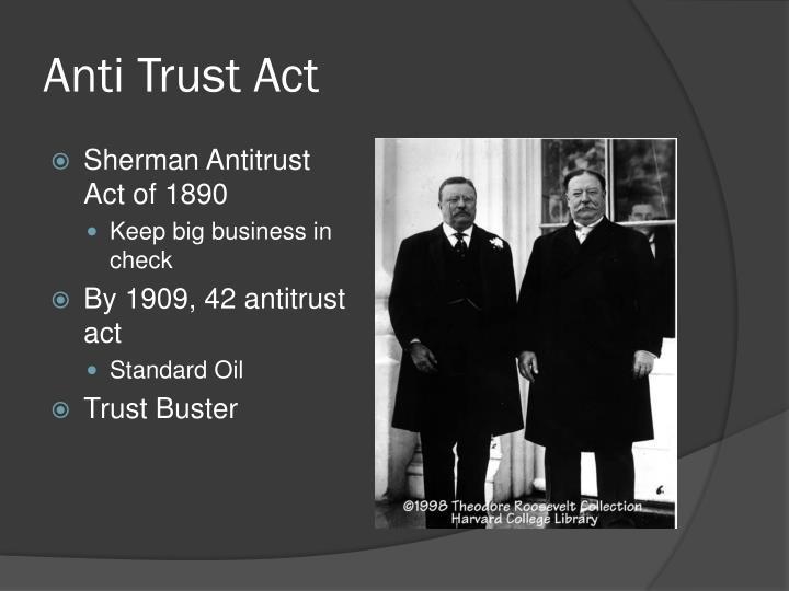 Anti Trust Act