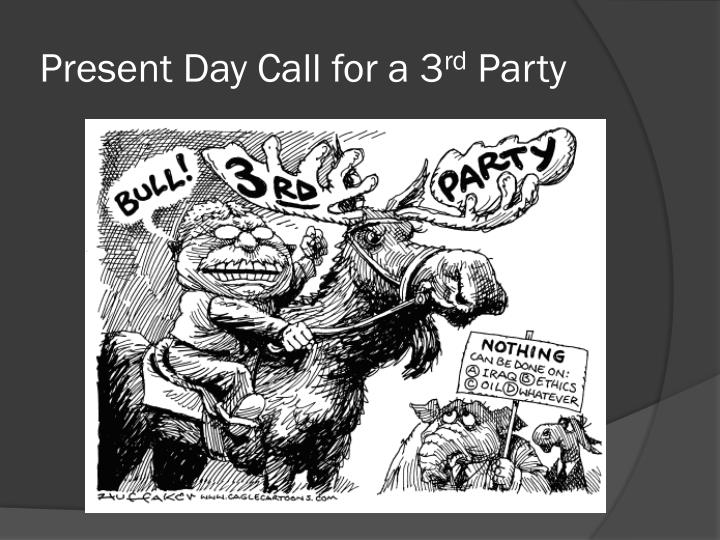 Present Day Call for a 3