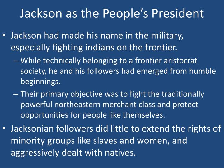 Jackson as the People's President
