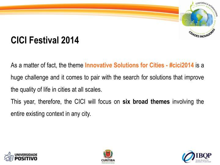 CICI Festival 2014