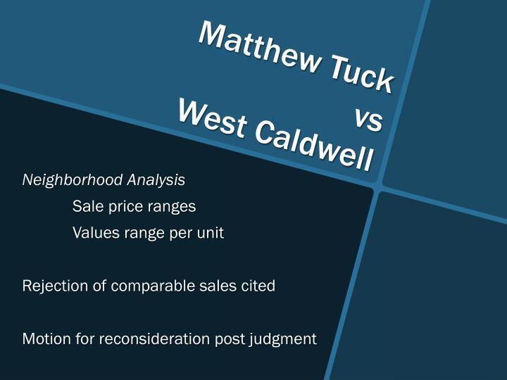 Matthew Tuck
