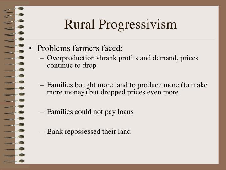 Rural Progressivism