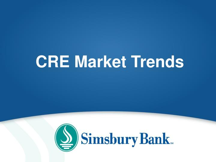 CRE Market Trends