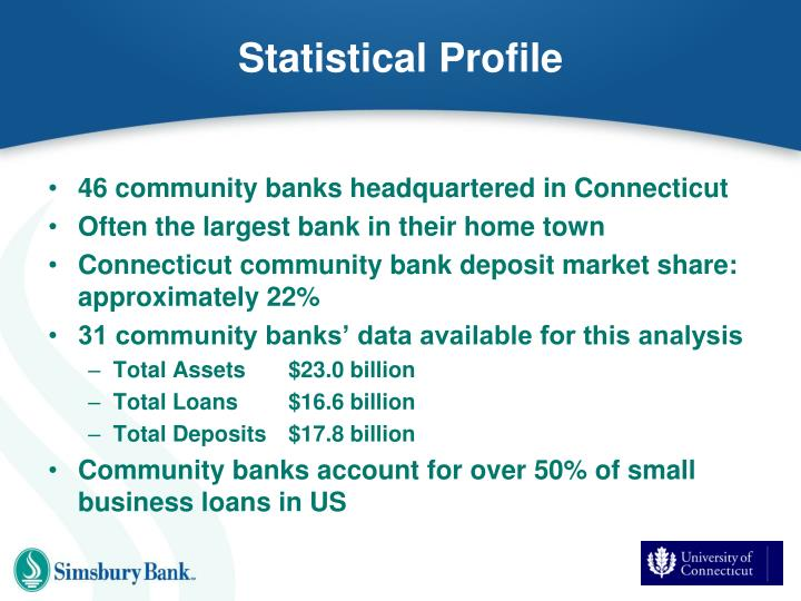 Statistical Profile