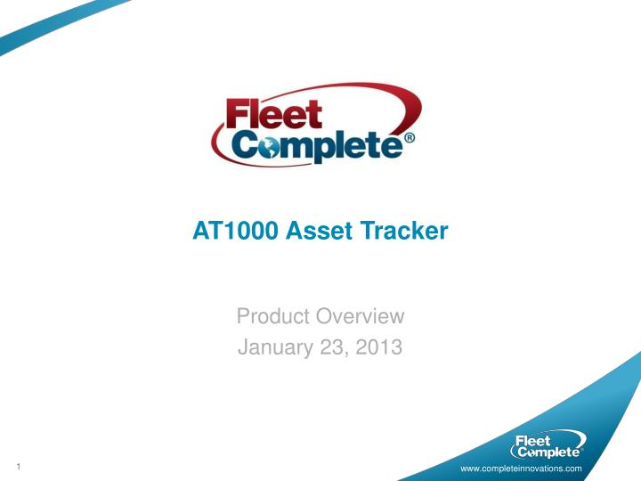 AT1000 Asset Tracker