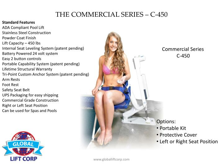 THE COMMERCIAL SERIES – C-450