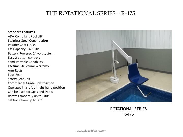 THE ROTATIONAL SERIES – R-475