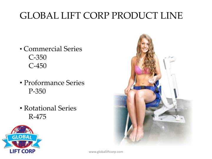 GLOBAL LIFT CORP PRODUCT LINE