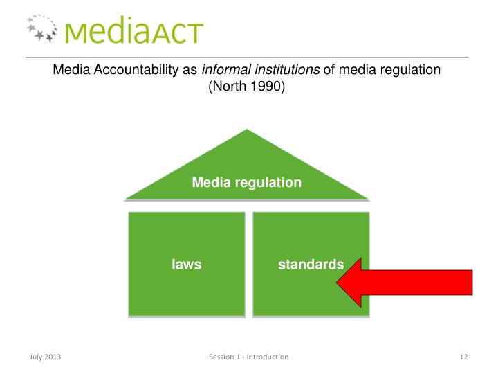 Media Accountability as