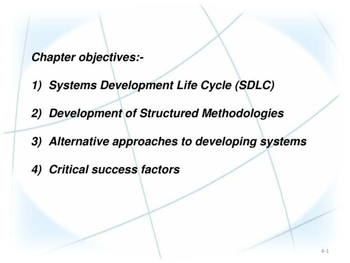 Chapter objectives:-