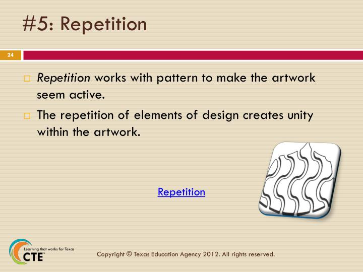 #5: Repetition