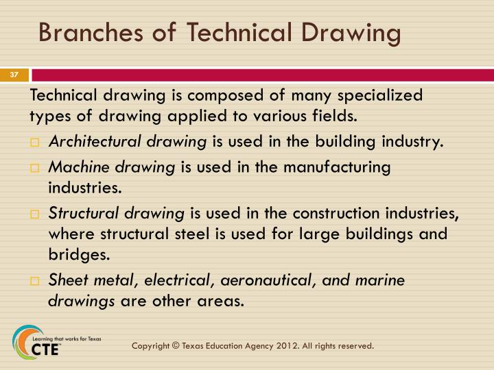 Branches of Technical Drawing