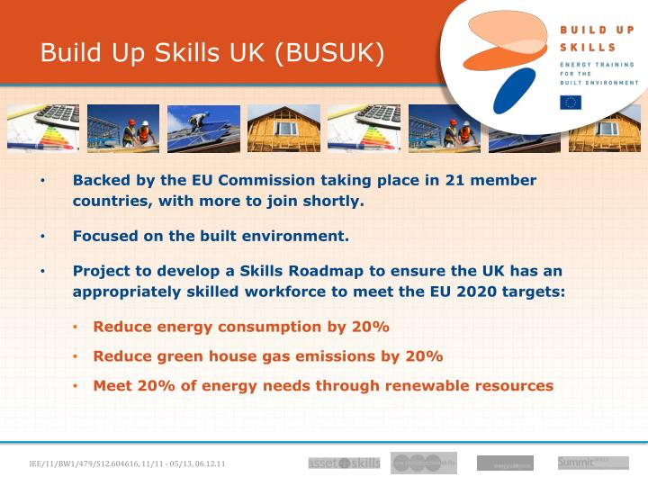 Build Up Skills UK (BUSUK)
