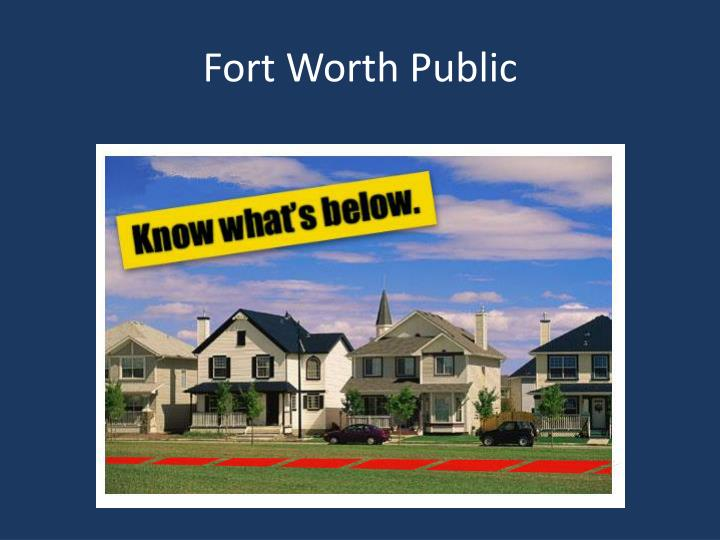 Fort Worth Public