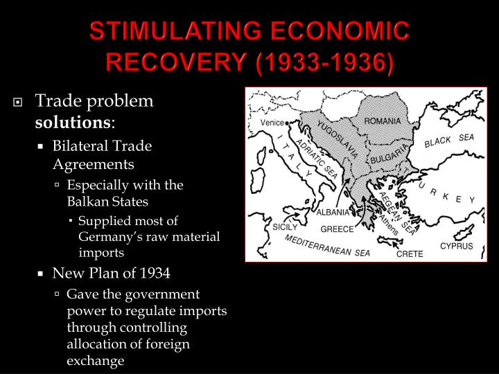 STIMULATING ECONOMIC RECOVERY (1933-1936)