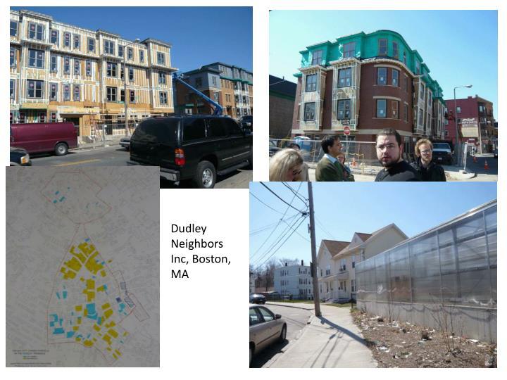 Dudley Neighbors Inc, Boston, MA