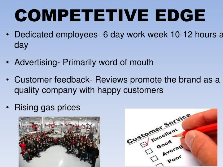 COMPETETIVE EDGE