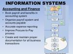 information systems3