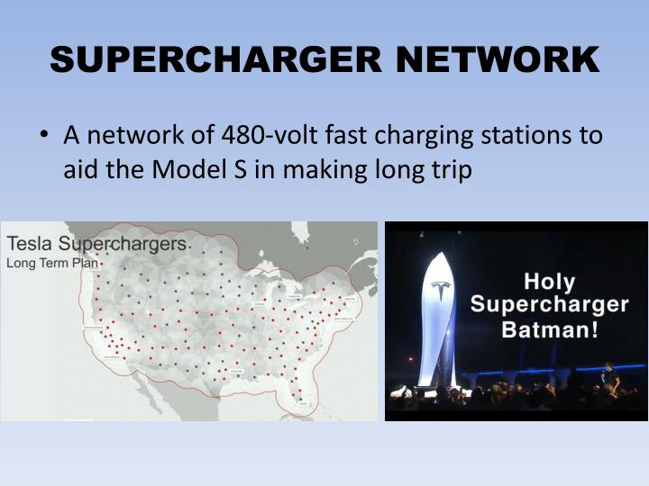 SUPERCHARGER NETWORK