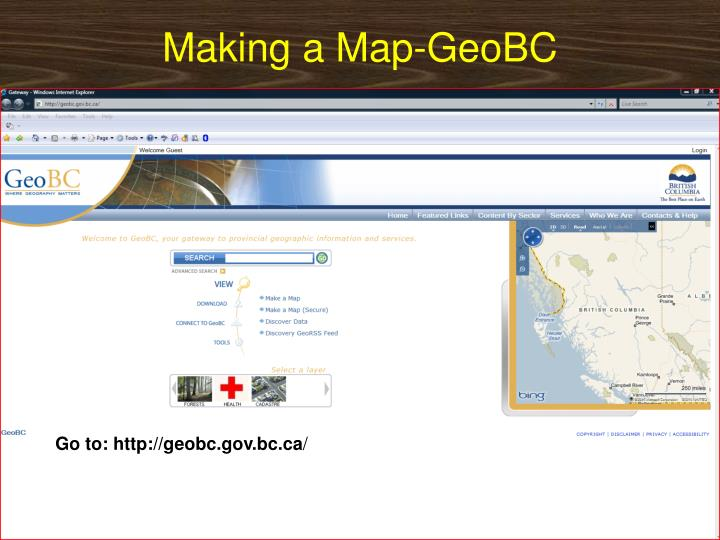 Making a Map-