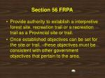 section 56 frpa