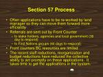 section 57 process1