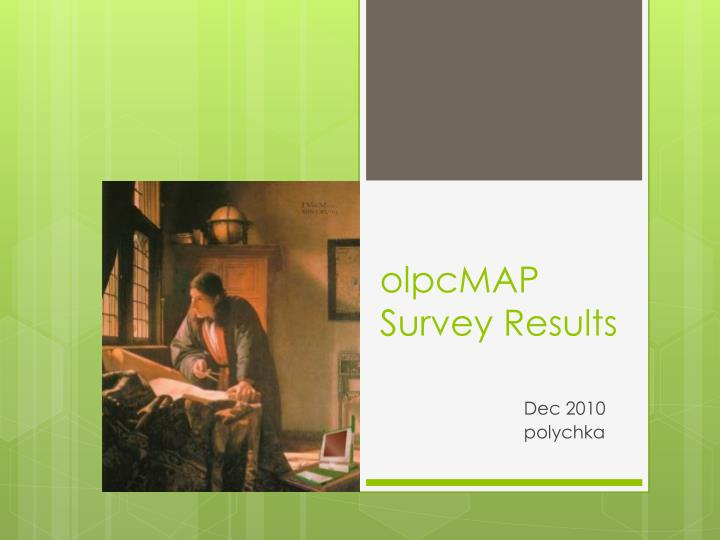 Olpcmap survey results