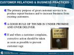 customer relations business practices11