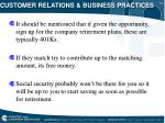 customer relations business practices18