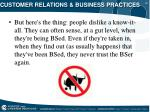 customer relations business practices25