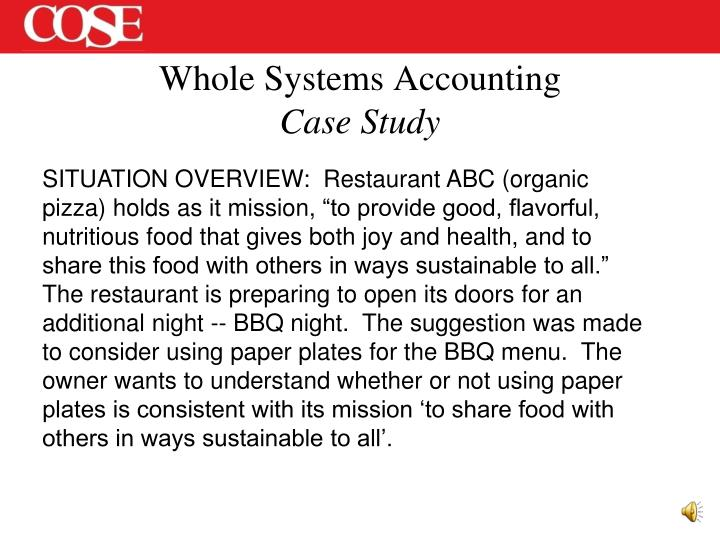 Whole Systems Accounting