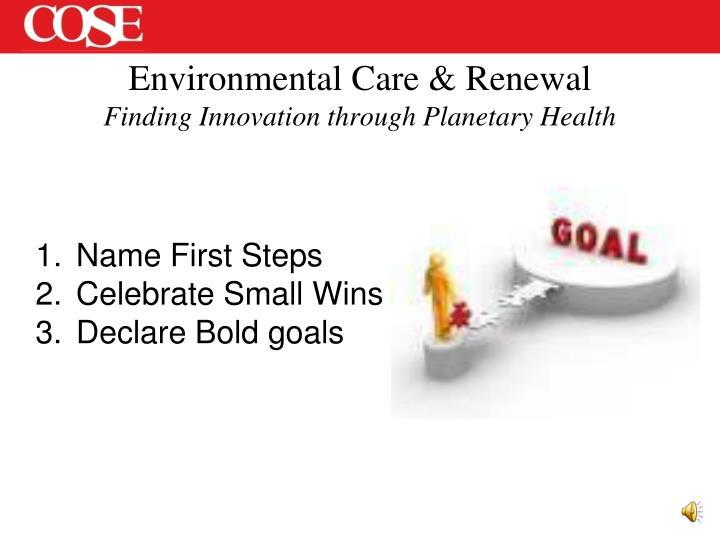 Environmental Care &