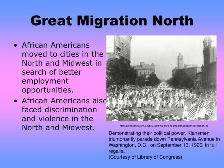 Great Migration North
