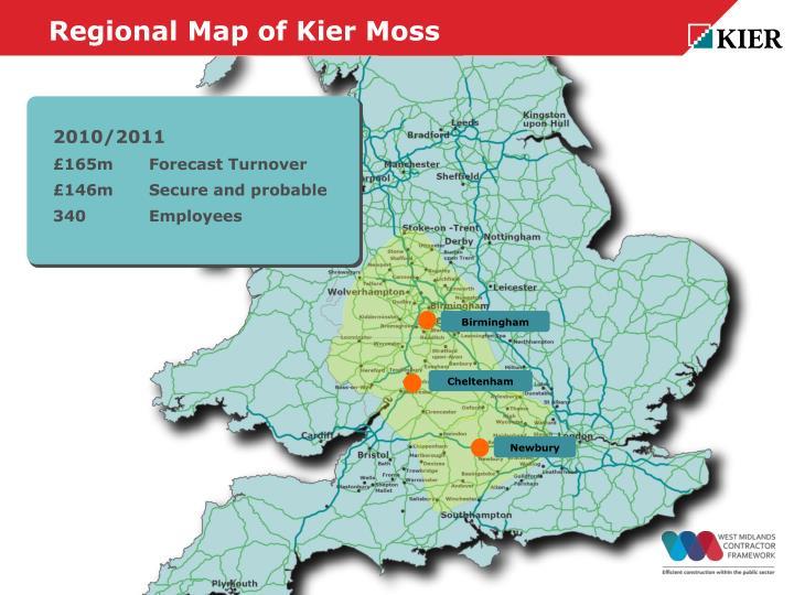 Regional Map of Kier Moss