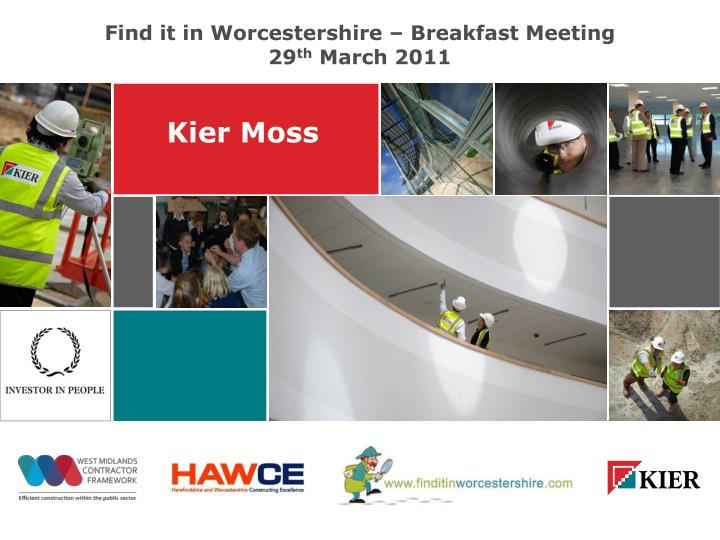 Find it in Worcestershire – Breakfast Meeting