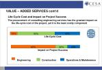 value added services cont d