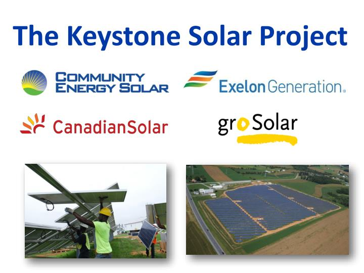The Keystone Solar Project