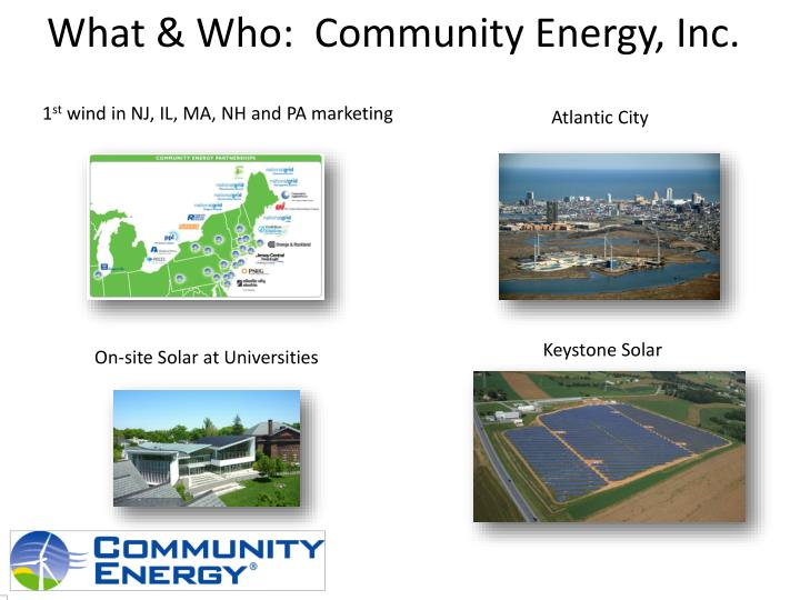 What who community energy inc