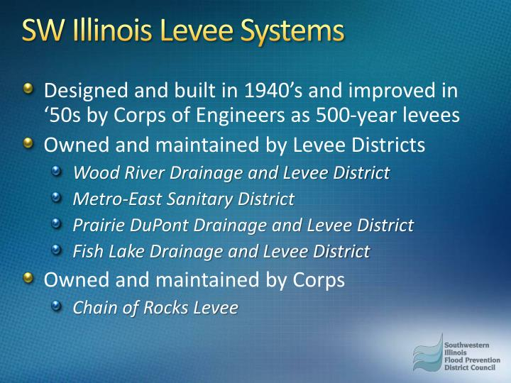 SW Illinois Levee Systems