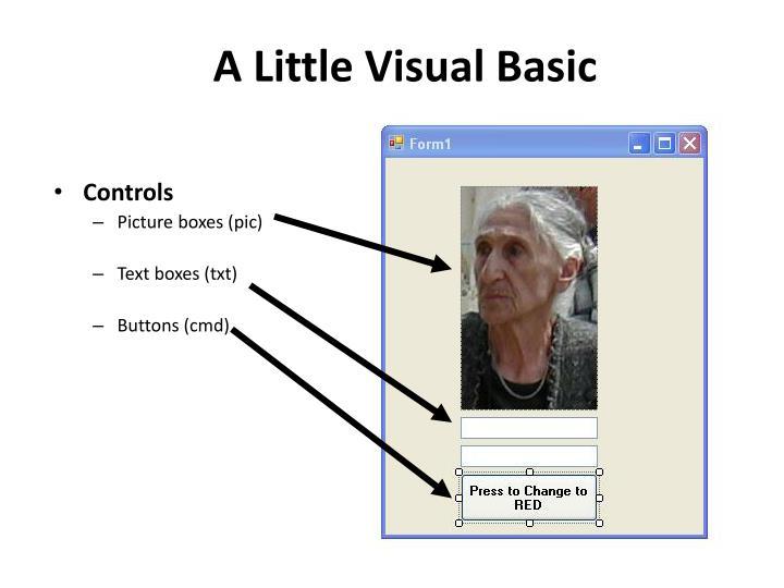 A Little Visual Basic