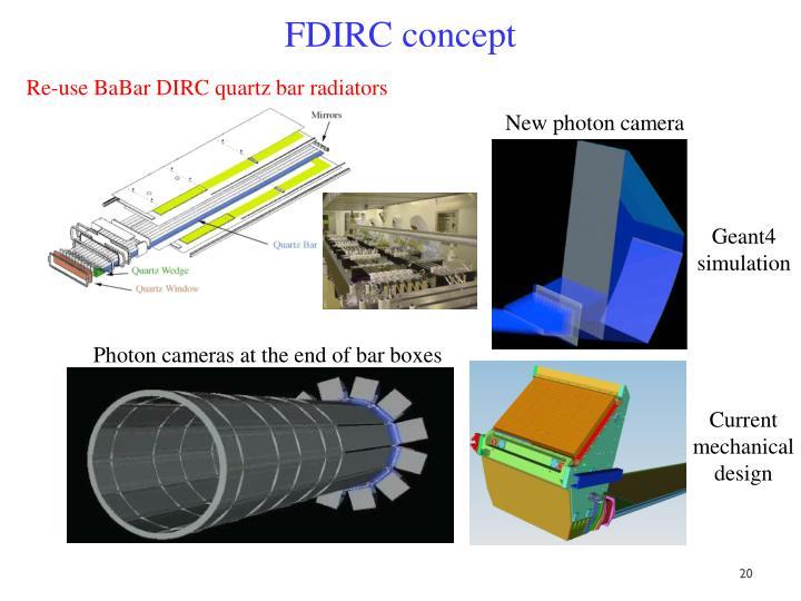 FDIRC concept
