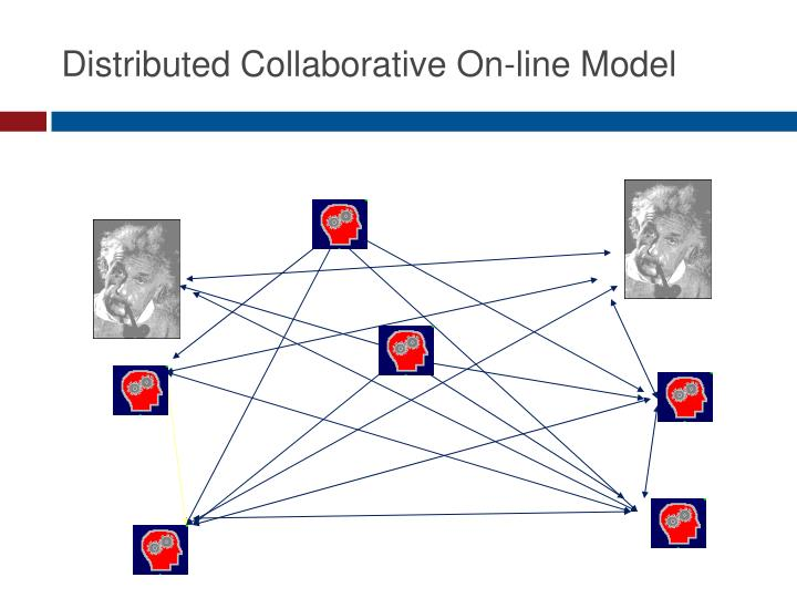 Distributed Collaborative On-line Model