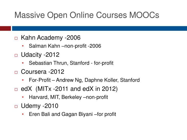Massive Open Online