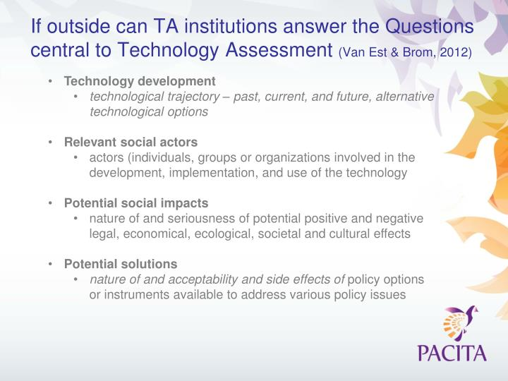 If outside can TA institutions answer the Questions