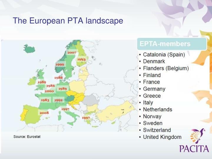 The European PTA landscape