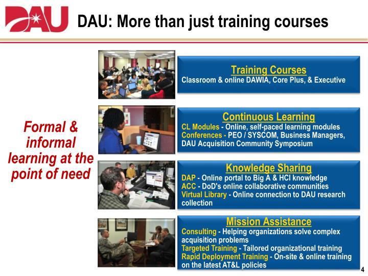 Training - DAU Home