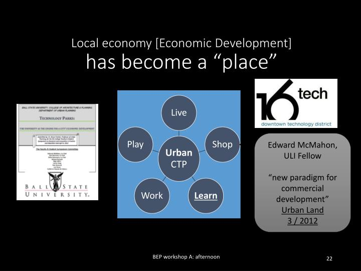 Local economy [Economic Development]