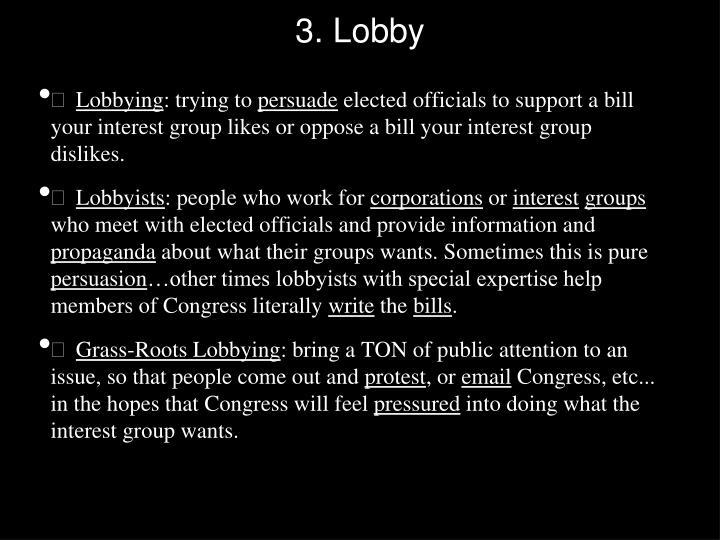 3. Lobby